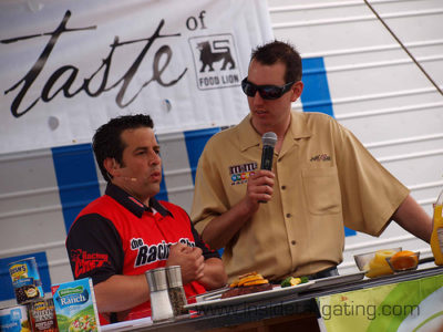 Nicky Morse NASCAR race chef