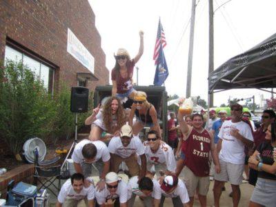 Florida State University Seminoles football tailgating