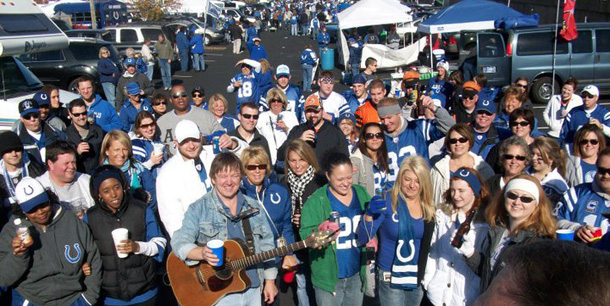 NFL Colts Tailgating