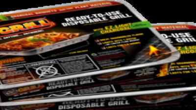 Disposable EZ Grill