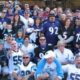 Panther Fans Tailgating in Charlotte, NC