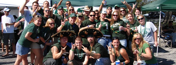 USF Fans Tailgating