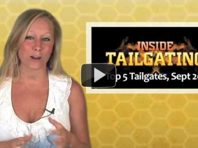 Ashley Daley, Top 5 Tailgates of September 2011