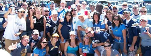 San Diego Chargers Tailgating