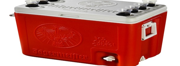 Jagermeister Shot Cooler Inside Tailgating