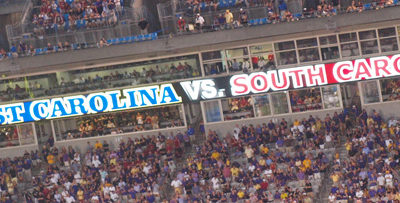 SC vs. ECU Video Banner