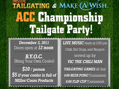 ACC Championship Party
