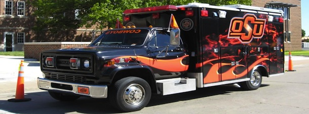 Photo-Cowboy Fanbulance