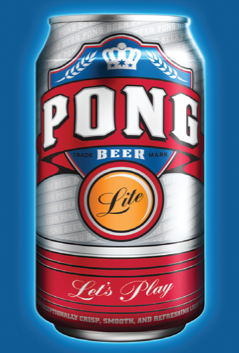 Pong-Beer-Lite Tailgating Beer