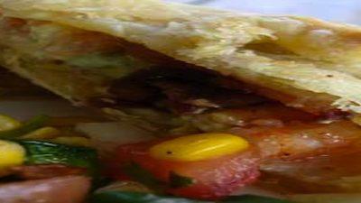 Tailgating Recipes - Bacon Avocado Pockets