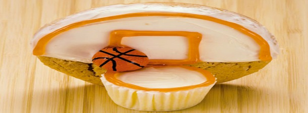 Tailgating Recipe: Basketball Cupcakes