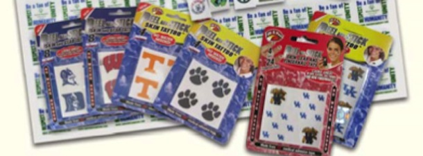 Fan Temporary Tattoos for Tailgating