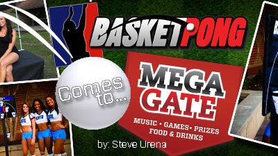 BasketPong Comes to MegaGate 2012