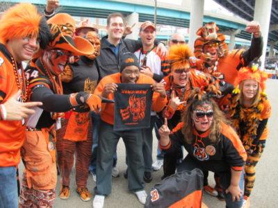 Cincinatti Bengals Tailgate Crew