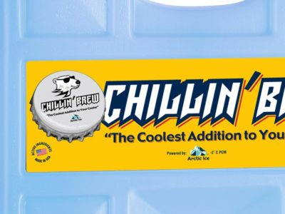 Chillin' Brew: Rugged Reusable Cooler Panels