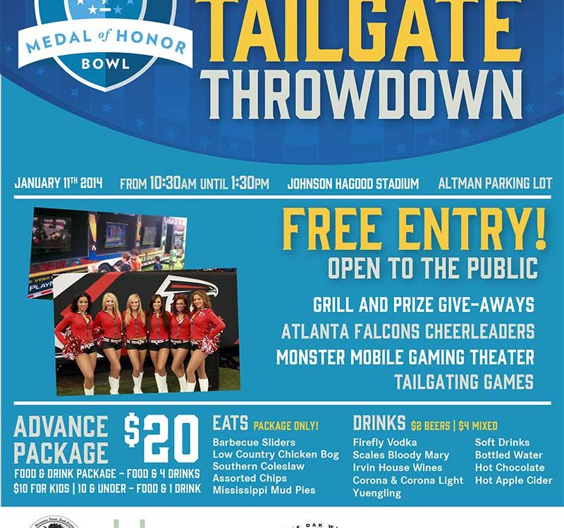 Medal of Honor Bowl Tailgate Party, Charleston, SC