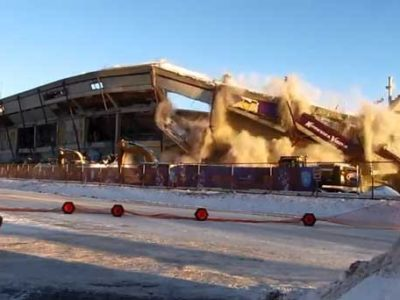 Video: The Metrodome is No More