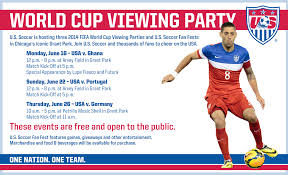 viewing party flyer
