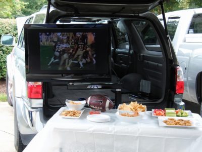 The Original Tailgate TV Stand (TTS) - Simply Outstanding 2