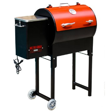 Rec Tec Your Meat Rt 300 Mini Wood Pellet Grill Inside