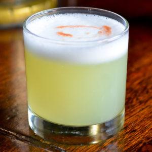 Pisco Sour (Image courtesy of recipes.com)