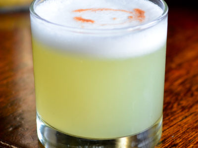 Pisco Sour (Image courtesy of recipes.com)