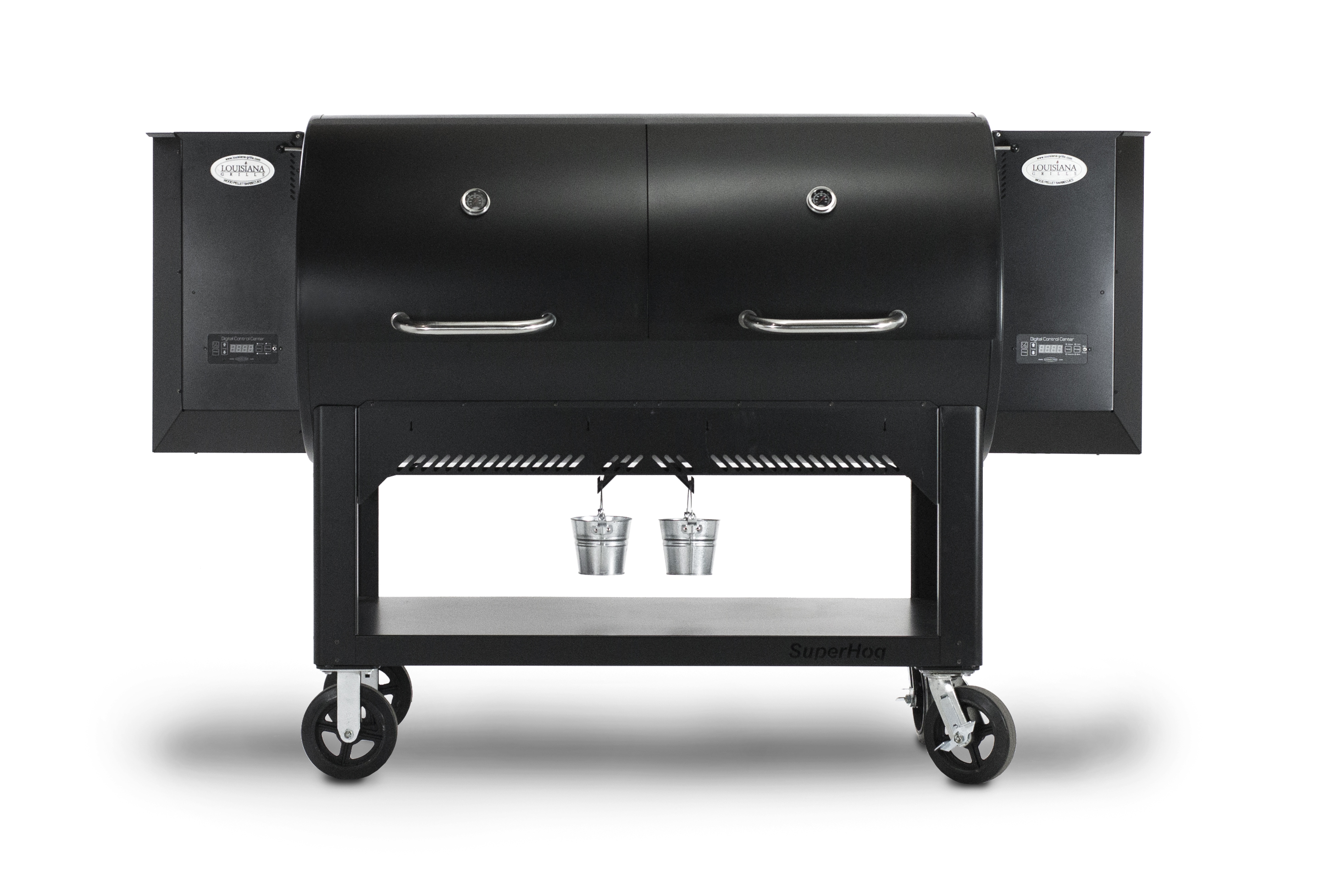 the super hog is the elite wood pellet grill in the country smokers line of grills from louisiana grills lg the super hog is super big with just about - Wood Pellet Grill