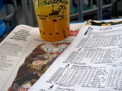 Preakness Cocktails Cup and Race form