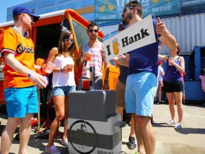 Meet Hank the Beer Tank: The Portable Kegerator