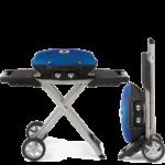 Napoleon TravelQ Portable Gas Grill with Scissor Cart 1