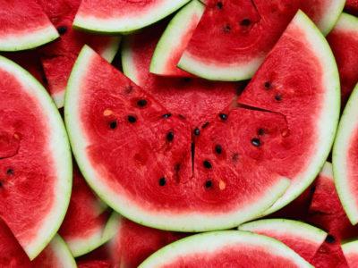 Silver Watermelon Sparkler Punch
