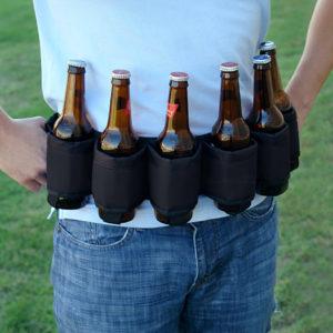 w beer belt black46586