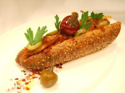 Grilled Sweet Sausage