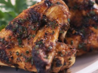 Wicked Chimichurri Wings
