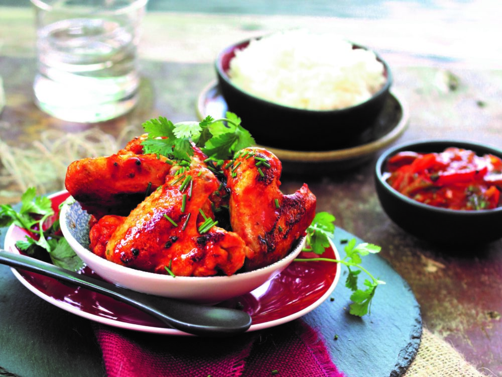 Sticky Chili Chicken Wings
