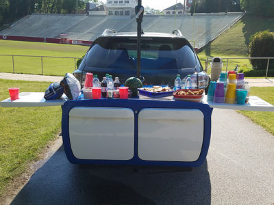 Triton coolers pull double duty, simplify tailgating