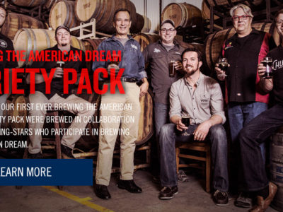 """Sam Adams launches """"Brewing the American Dream"""" 12-pack 1"""