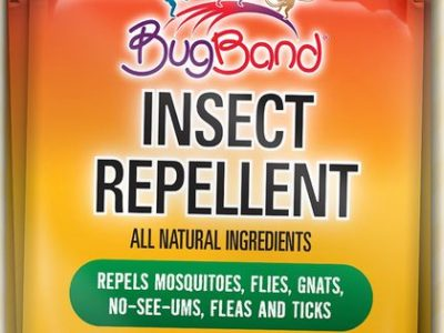 Pack BugBand Insect Repellent for next tailgate