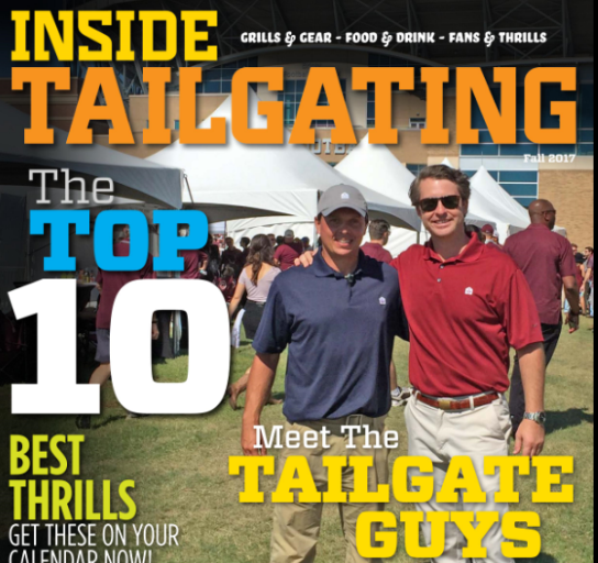 Browse Inside Tailgating's Ten Best grills, gear and more in Fall Issue