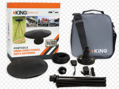 Treat yourself or tailgating friend to KING antenna