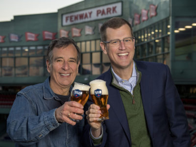 Sam Adams joining forces with Red Sox
