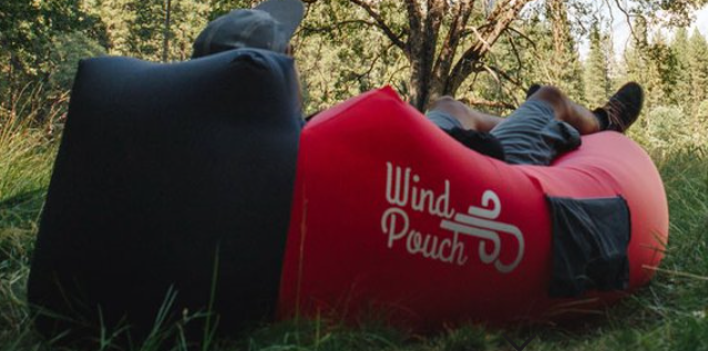 WindPouch portable hammock makes lounging easy