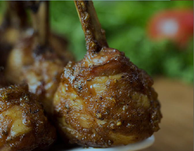 Smoked chicken lollipops with cola BBQ sauce 1