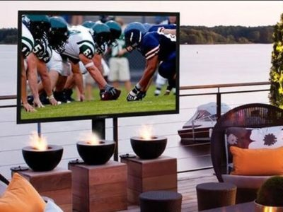 SunBrite TVs built for watching games outdoors
