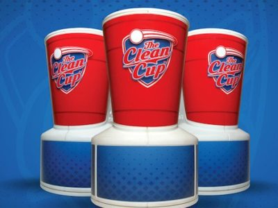 August giveaway: FREE Clean Cup beer pong washer 1