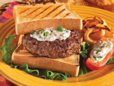 Char-Broil recipe for Jamaican jerk burgers
