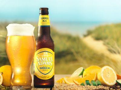 """Sam Adams """"juices up"""" Summer Ale"""