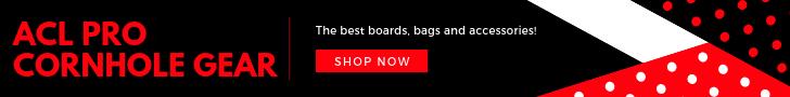 American Cornhole League Pro Gear Shop Banner