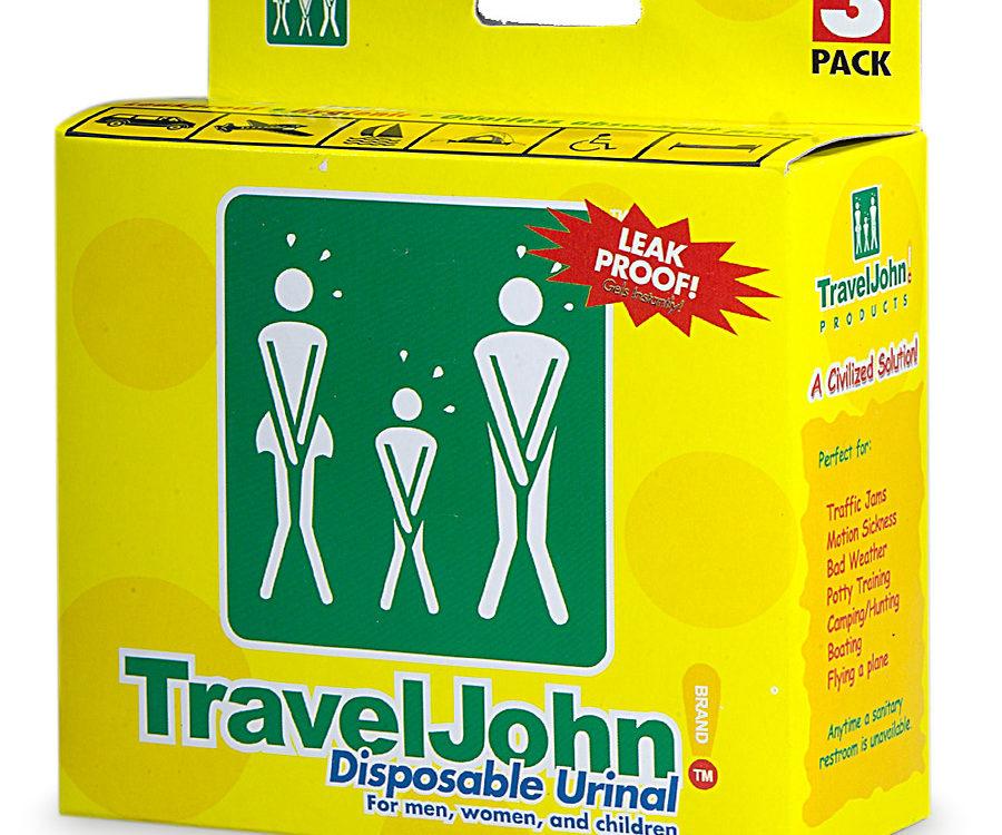 Traveljohn disposable urinals for tailgating? Yep 1