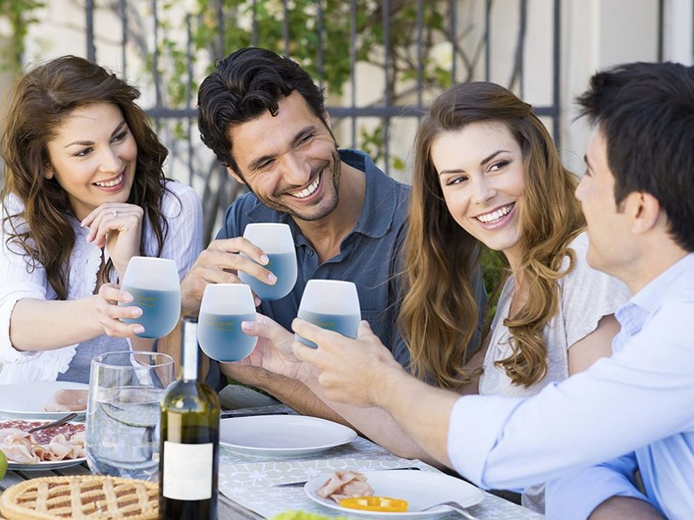 Silicone wine glasses a tailgating must-have 1